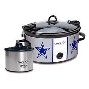 Crock-Pot NFL Cook and Carry Slow Cooker, 6 Qt. (Cowboys)
