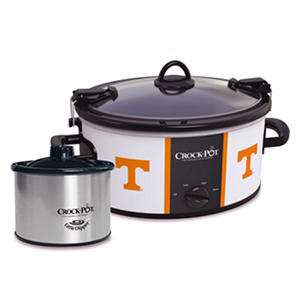 Crock-Pot NCAA Cook and Carry Slow Cooker, 6 Qt. (Tennessee Volunteers)