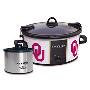 Crock-Pot NCAA Cook and Carry Slow Cooker, 6 Qt. (Oklahoma Sooners)