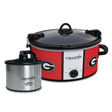 Crock-Pot NCAA Cook and Carry Slow Cooker, 6 Qt. (Georgia Bulldogs)