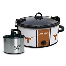 Crock-Pot NCAA Cook and Carry Slow Cooker, 6 Qt. (Texas Longhorn)