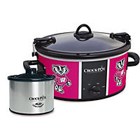 Crock-Pot NCAA Cook and Carry Slow Cooker, 6 Qt. (Wisconsin Badgers)