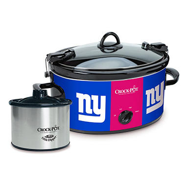 Crock-Pot NFL Cook and Carry Slow Cooker, 6 Qt. (New York Giants)