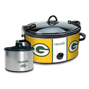 Crock-Pot NFL Cook and Carry Slow Cooker, 6 Qt. (Green Bay Packers)