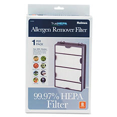 "Holmes Replacement Modular HEPA Filter for Air Purifiers - 10"" x 6.5"" x 2"""
