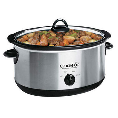 Rival Crock-Pot� Slow Cooker - 6.5 qt.