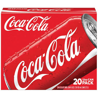 Coke (12 oz. cans, 20 pk.)