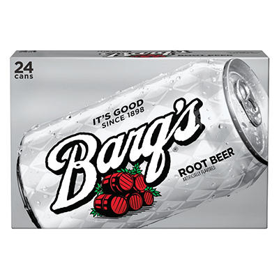 Barq's Root Beer (12 oz. cans, 6 pk.)