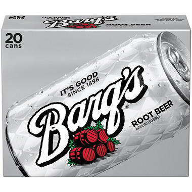 Barq's Root Beer (12 oz. cans, 20 pk.)