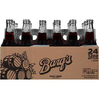 Barq's Root beer (12 oz. bottles, 24 pk.)