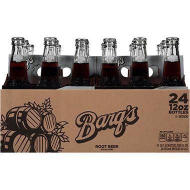 Barq S Root Beer 12 Oz Bottles 24 Pk Sam S Club