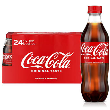 Coca-Cola - 16.9 oz. bottles - 24 pk.