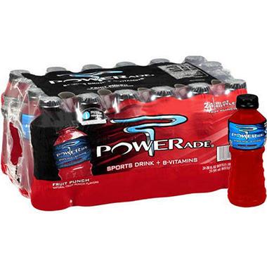 Powerade® Fruit Punch - 24/20 oz.