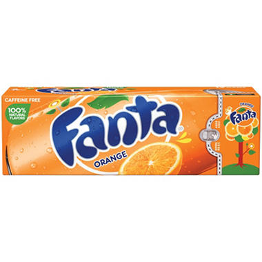 Fanta Orange - 12 oz. cans - 12 pk.