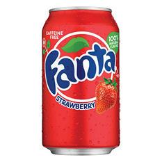 Fanta Strawberry Soda (12 oz. cans, 12 pk.)