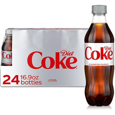 Diet Coke - 16.9 oz. bottles - 24 pk.