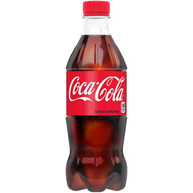 Coca-Cola - 20 oz. bottles - 24 pk.