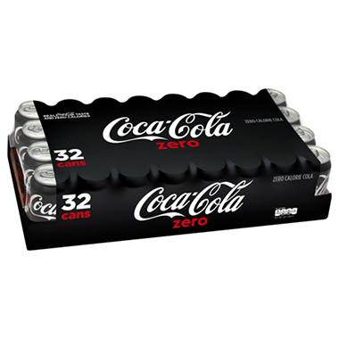 Coke Zero (12 oz. cans, 32 pk.)