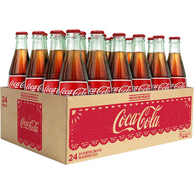 Coca-Cola de Mexico - 355mL bottles - 24 pk.