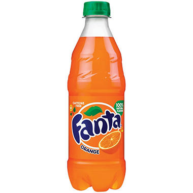 Fanta Orange Soda (16 oz. cans, 24 pk.)