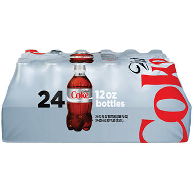 Diet Coke - 12 oz. bottles - 24 pk.