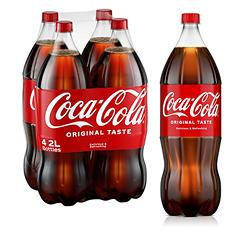 Coca-Cola (2L bottles, 4 pk.)