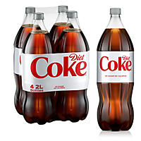 Diet Coke (2L bottles, 4 pk.)