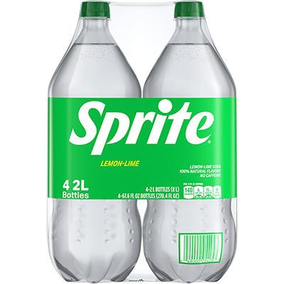 Sprite Lemon Lime Soda (2L bottles, 4 ct.)
