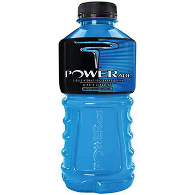 Powerade Mountain Blast Sports Drink - 20 oz. - 18 pk.