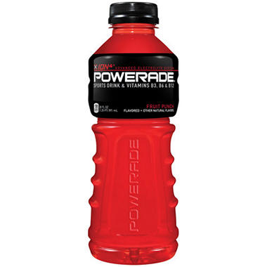 Powerade Fruit Punch Sports Drink - 20 oz. - 18 pk.