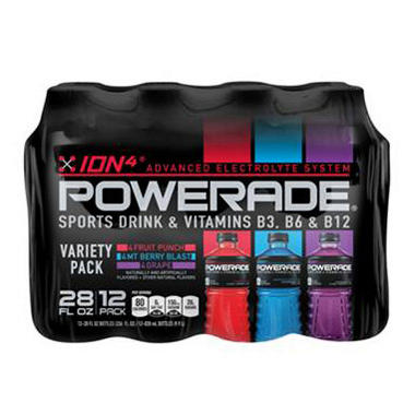 Powerade Variety Pack (28 oz. bottles, 12 pk.)