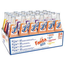 Fanta de Mexico, Variety Pack (12 oz. glass bottles, 24 pk.)