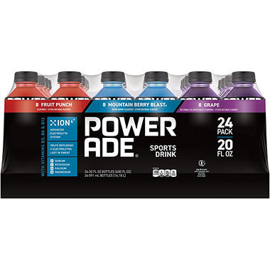 POWERade Variety Pack - 20 oz. - 24 pk.