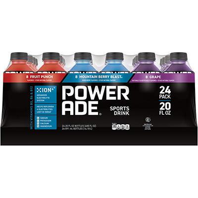 Powerade Variety Pack , 20 oz. (24 pk.)