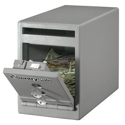 SentrySafe - Depository Under Counter Safe - .25 Cubic Feet