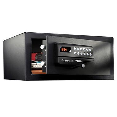 SentrySafe - Large Hotel Safe, Black