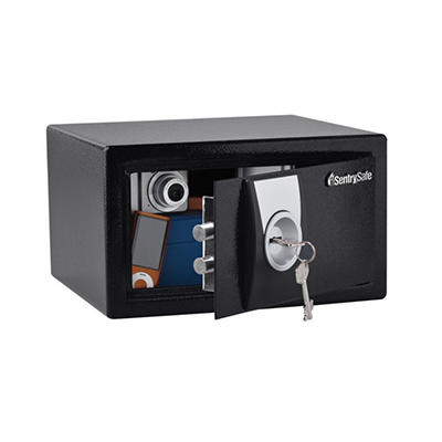 SentrySafe - Security Safe, Key Lock - .3 Cubic Feet