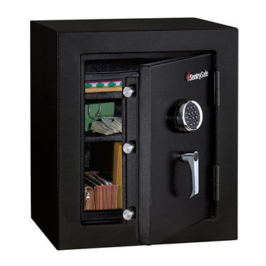 SentrySafe - Fire Safe, Electronic Lock - 3.0 Cubic Feet