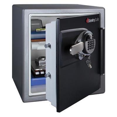 SentrySafe - Fire Safe, Fingerprint Lock - 1.2 Cubic Feet