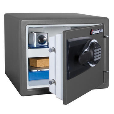 SentrySafe - Fire Safe, Water Resistant - .8 Cubic Feet