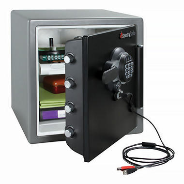 SentrySafe - Fire Safe, Electronic Lock - 1.2 Cubic Feet