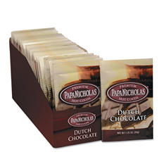 PapaNicholas Premium Hot Cocoa - Dutch Chocolate - 1.25 oz. - 24 ct.