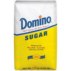 Domino Sugar, Pure Cane, Granulated (10 lb.)