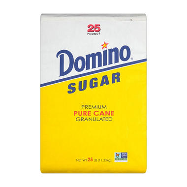 Domino® Granulated Sugar - 25 lbs.