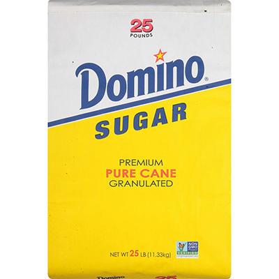 Domino® Granulated Sugar - 25 lbs.