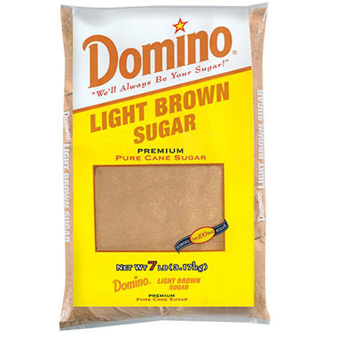 LIGHT BROWN DOMINO SUGAR 6/7 lbs