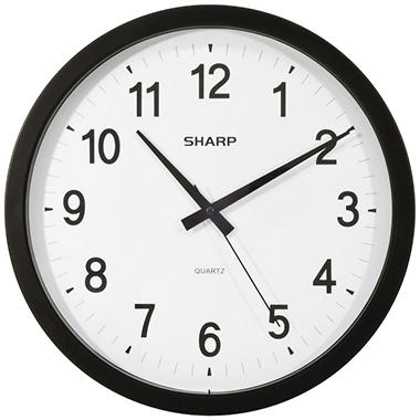Sharp Analog Wall Clock