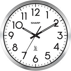 Sharp Analog Atomic Clock