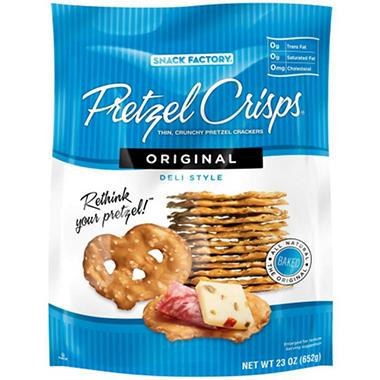 Pretzel Crisps - 23 oz.