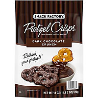Snack Factory Pretzel Crisps, Dark Chocolate Crunch (18 oz.)